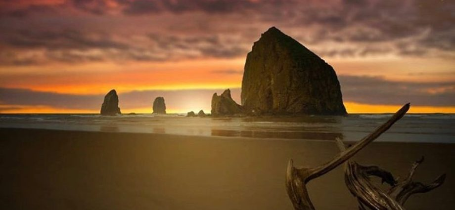 Haystack Rock - photo by @throughhuntersvision