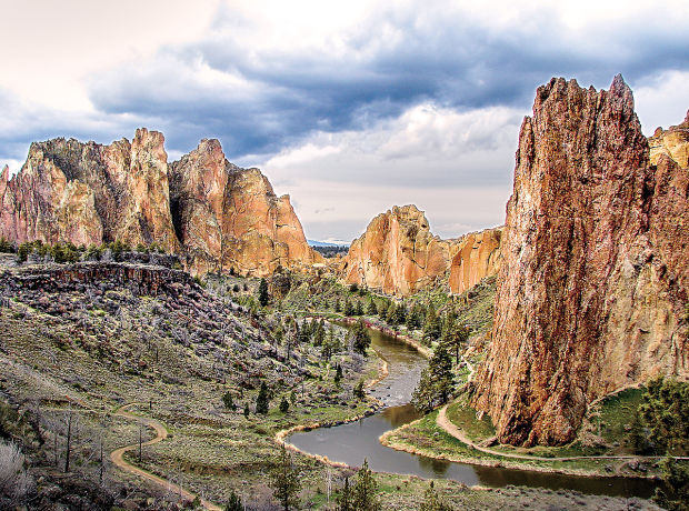 Oregon Places To Visit – Smith Rock State Park – Central