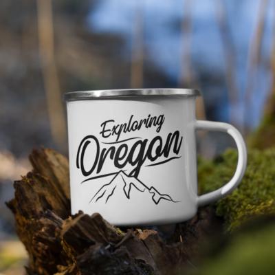 Exploring Oregon – Enamel Mug