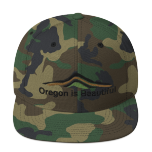Oregon is Beautiful – Camo Hat
