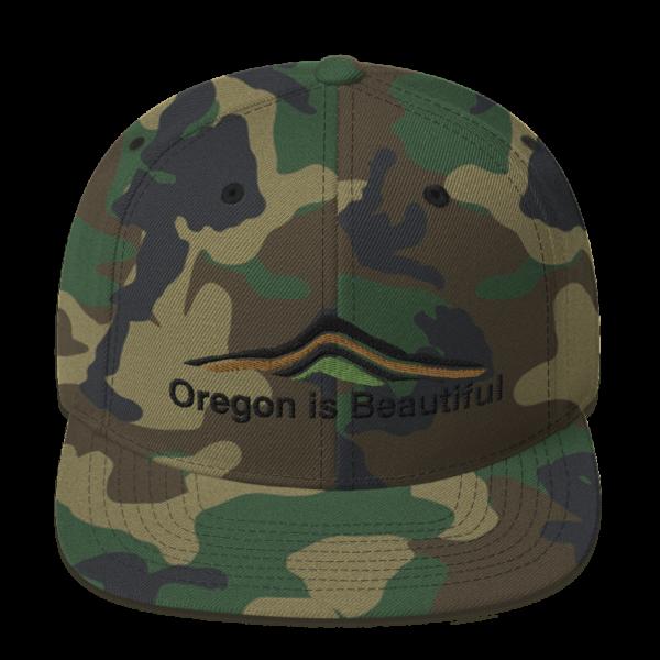 Oregon is Beautiful – Camo Hat