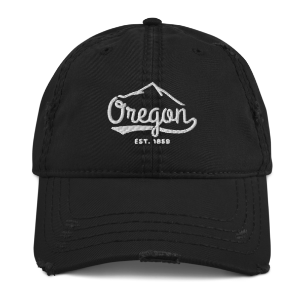 Oregon EST 1859 - Distressed Dad Hat