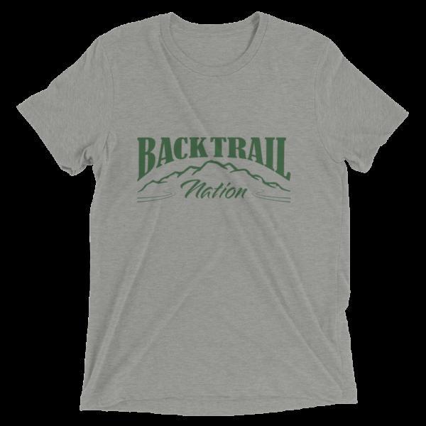 BACK TRAIL NATION - TRI-BLEND - T SHIRT