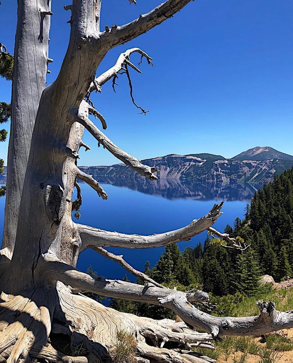 Crater Lake - photo by @fotoarchitekto_gwbreeden