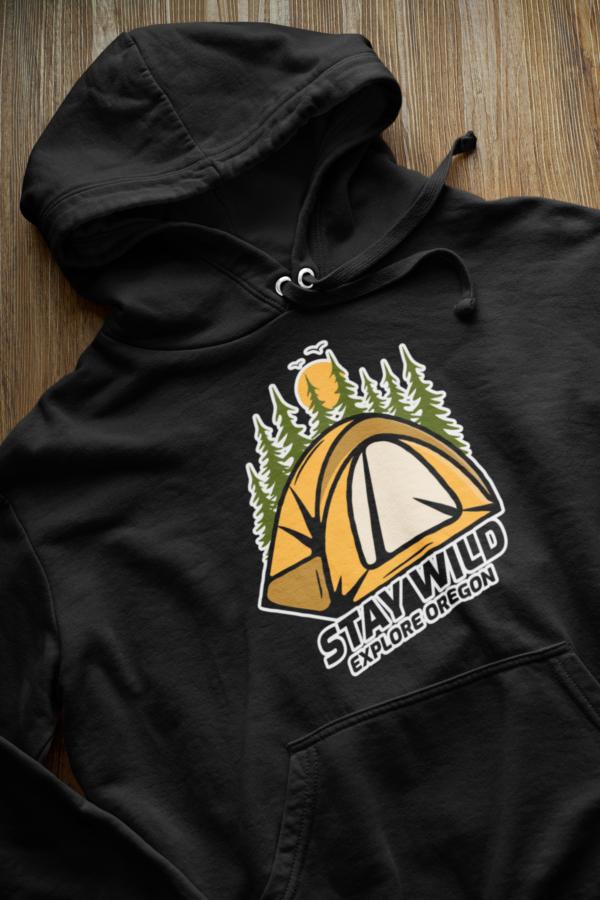 STAY WILD - Premium Hoodie