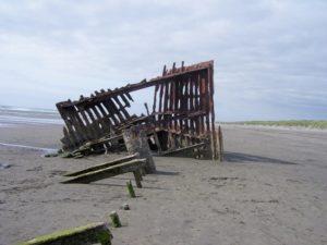 Peter Iredale Shipwreck - Fort Stevens State Park