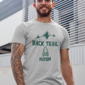 BACK TRAIL NATION - CAMPFIRE - TSHIRT