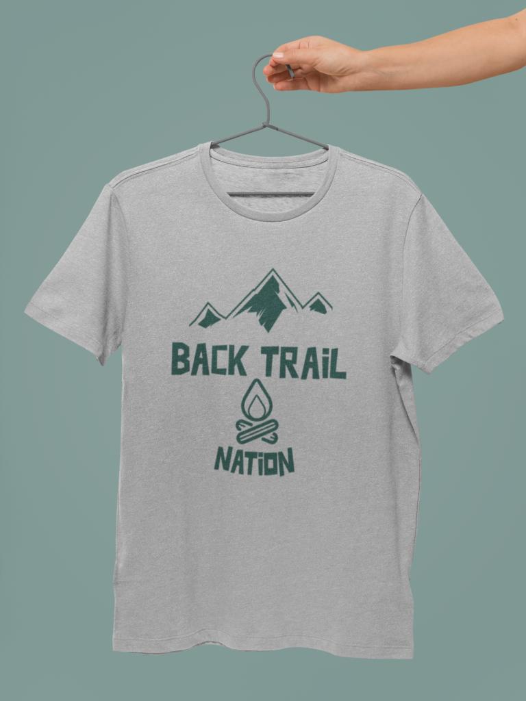 BACK TRAIL NATION - CAMPFIRE - TSHIRT