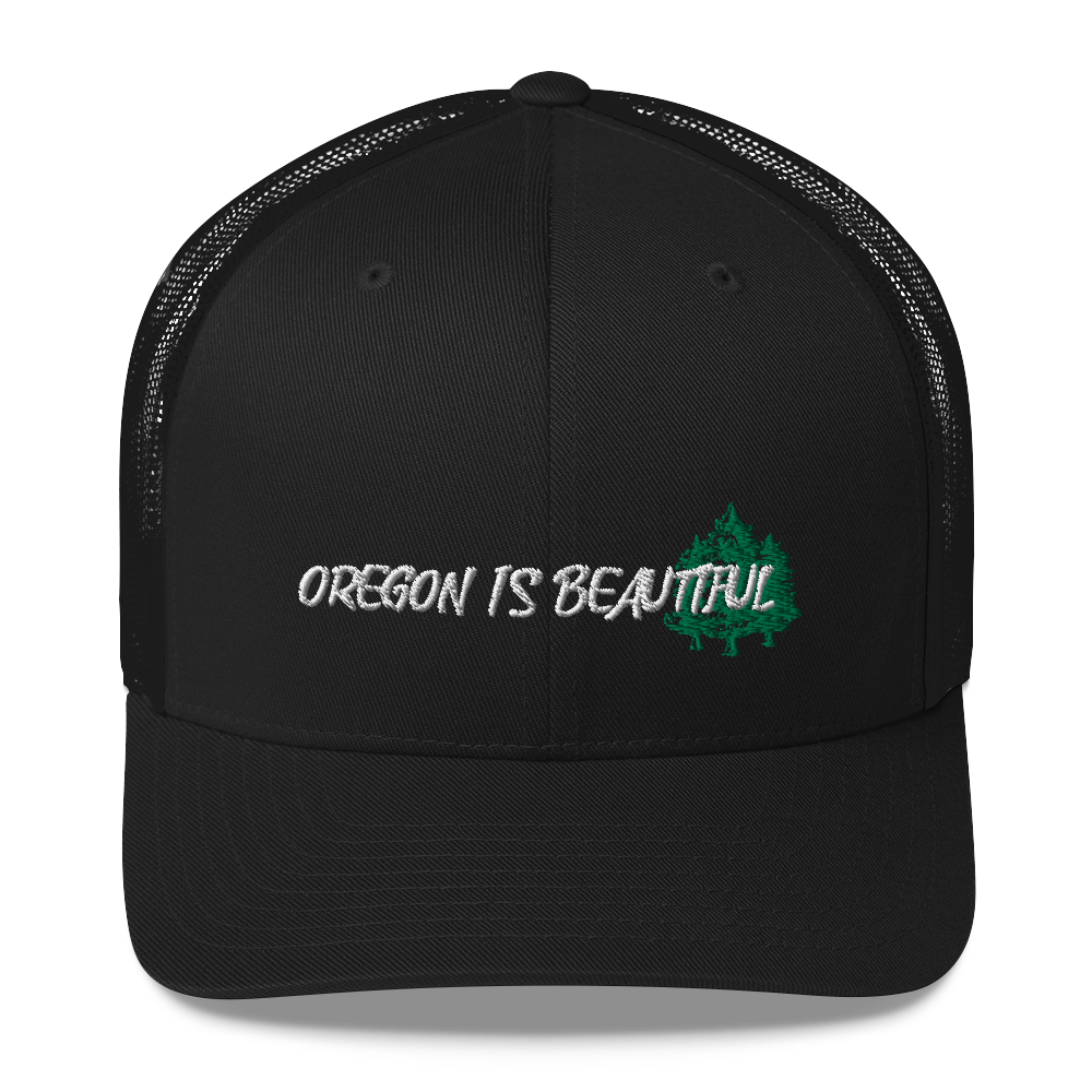 OREGON IS BEAUTIFUL - TRUCKER HAT