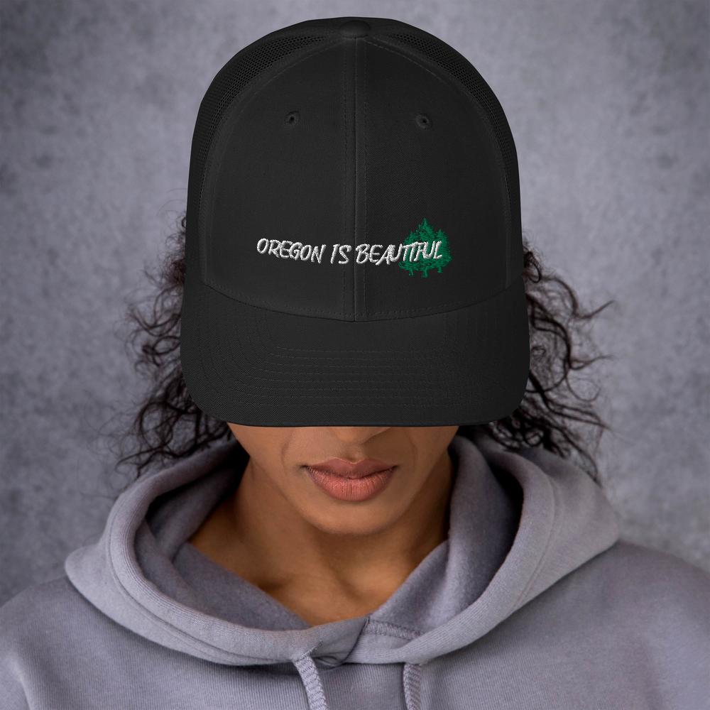 OREGON IS BEAUTIFUL - TRUCKER HAT