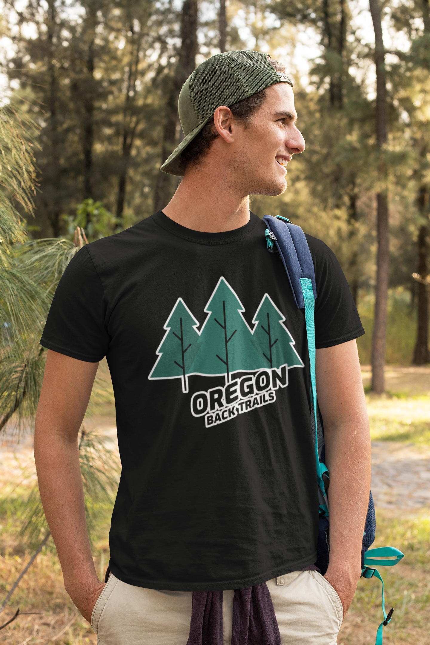 OREGON BACK TRAILS – ECO – T SHIRT