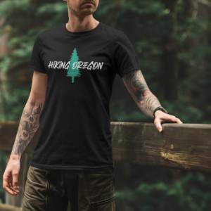 Hiking Oregon - Eco - T Shirt