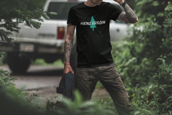 Hiking Oregon - Eco - T Shirt