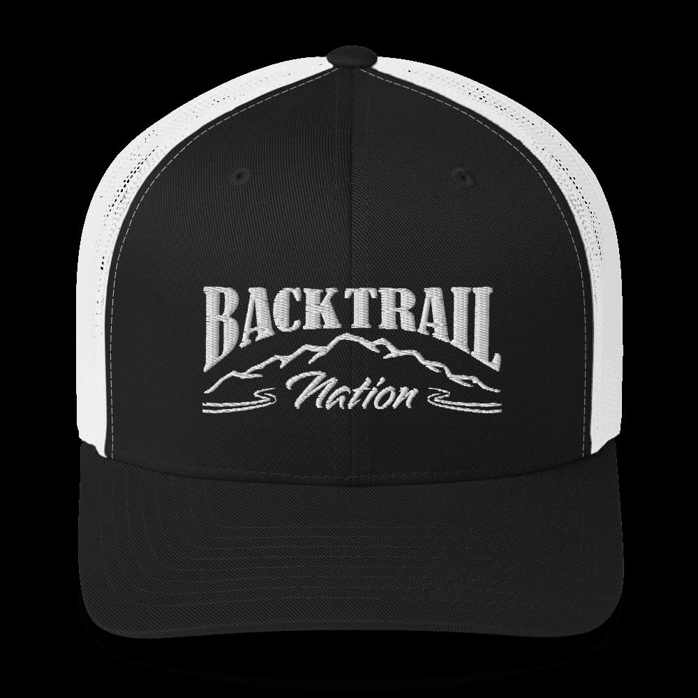 BACK TRAIL NATION - RETRO TRUCKER HAT