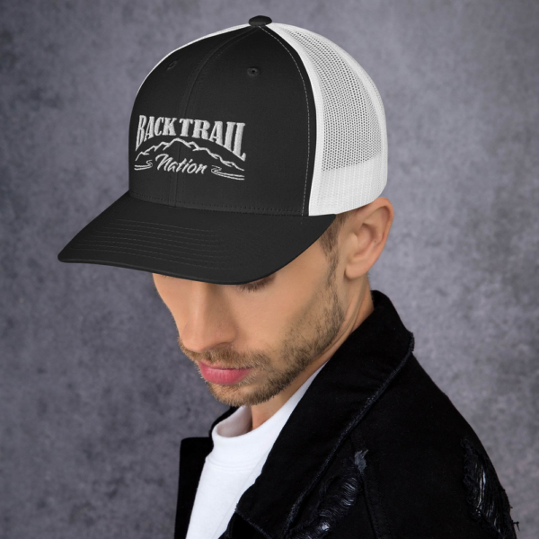 BACK TRAIL NATION - RETRO TRUCKER HAT