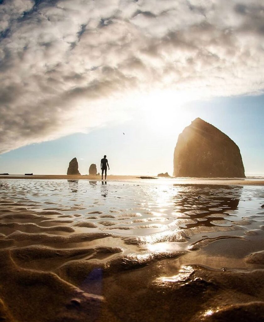 Cannon Beach - photo by @joseph.anzaldo