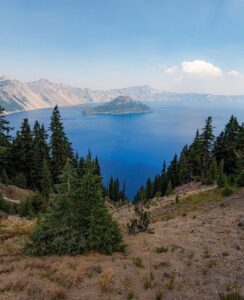 Crater Lake National Park - photo by @nicholas_esposito