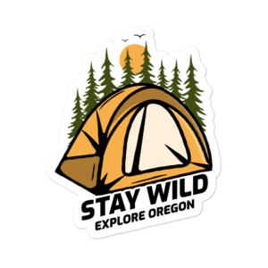 STICKER - STAY WILD - EXPLORE OREGON