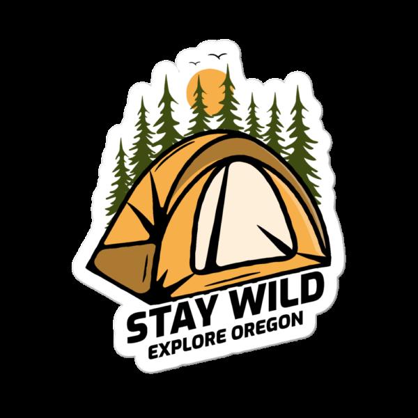 STICKER - STAY WILD - EXPLORE OREGON
