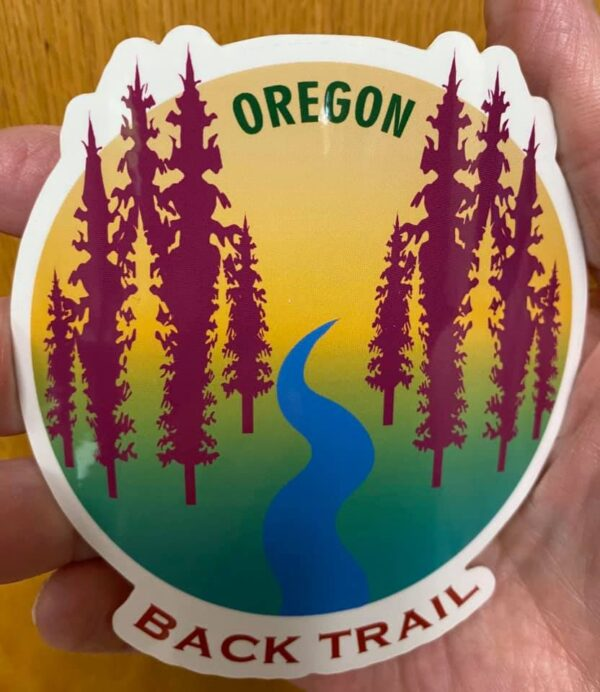 Oregon Back Trails - Sticker
