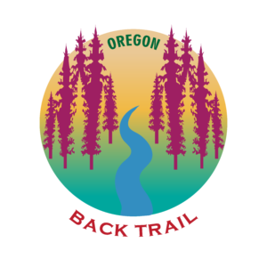 OREGON BACK TRAIL - STICKER