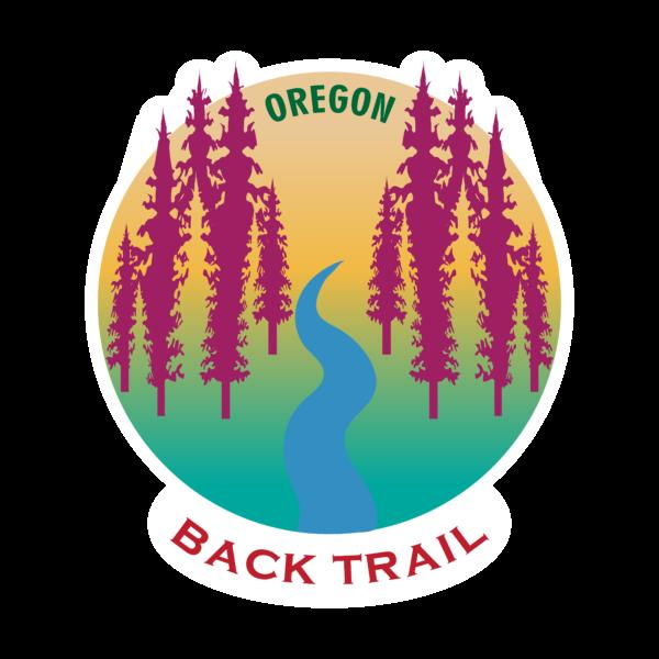OREGON BACK TRAIL - STICKER