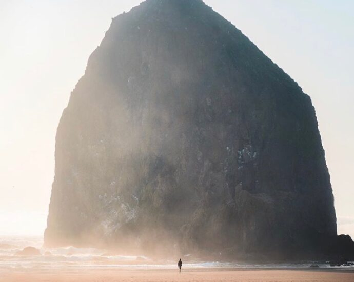 Cannon Beach Oregon - photo by @emmett_sparling