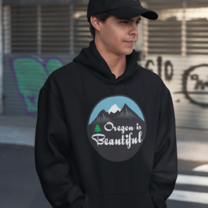 OREGON IS BEAUTIFUL - PREMIUM HOODIE