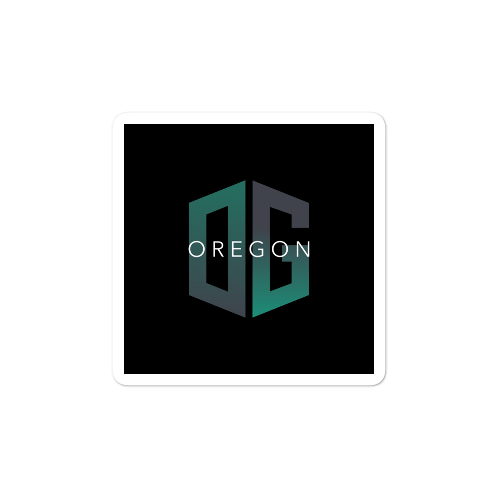 OG - OREGON - STICKER