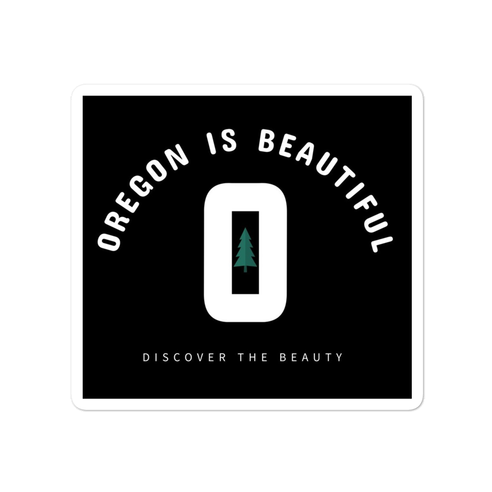 DISCOVER THE BEAUTY - STICKER