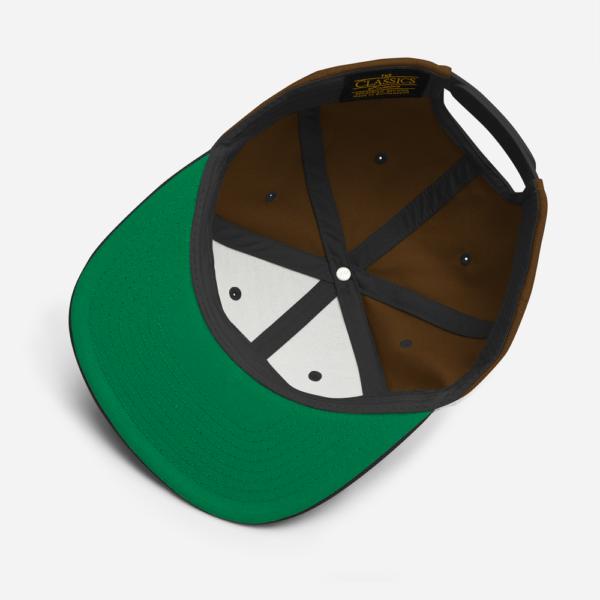 O (FOR OREGON) - GREEN CAMO SNAPBACK
