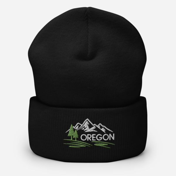 OREGON MOUNTAINS - BEANIE