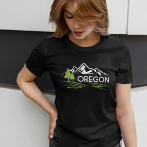 OREGON MOUNTAINS - T SHIRT