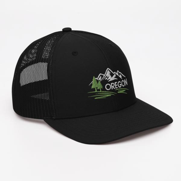 OREGON MOUNTAINS - SNAPBACK TRUCKER CAP