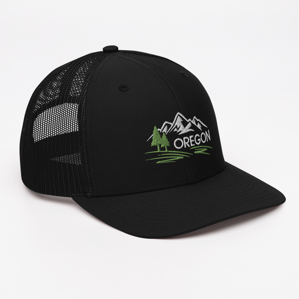 OREGON MOUNTAINS - SNAPBACK TRUCKER CAP