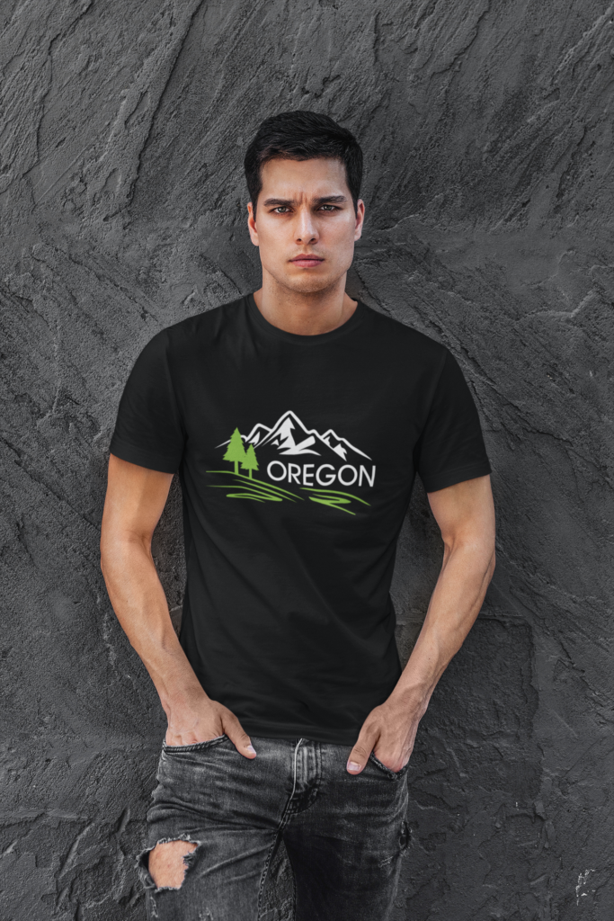 OREGON MOUNTAINS - T SHIRT