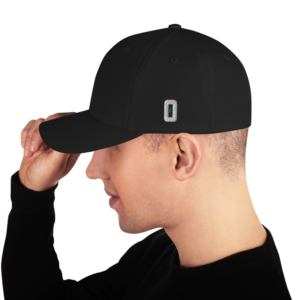 O (For Oregon) - Flex Fit Cap