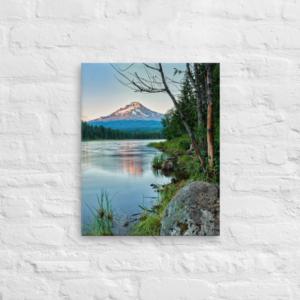 MT HOOD - 16X20 Canvas Wrap Print