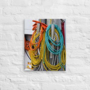 BOAT GEAR - 16X20 Canvas Wrap Print