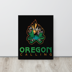 OREGON CALLING - 16X20 Canvas Wrap Print