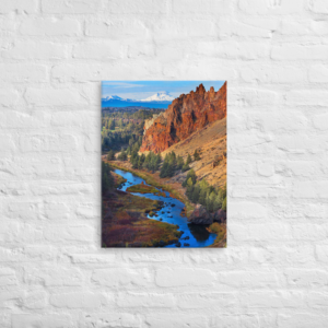 SMITH ROCK STATE PARK - 18X24 Canvas Wrap Print
