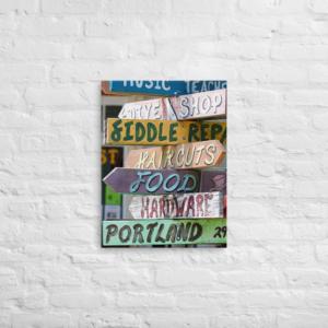 SIGNS - 18X24 Canvas Wrap Print