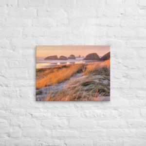 BEAUTIFUL OREGON COAST - 18X24 Canvas Wrap Print