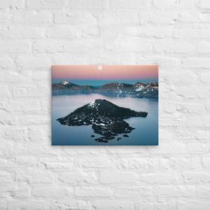 CRATER LAKE - 18X24-12X16 Canvas Wrap Print