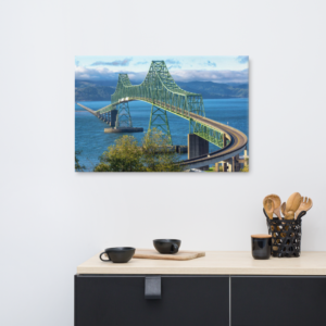ASTORIA BRIDGE - 24X36 Canvas Wrap Print
