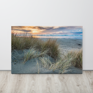 ON THE BEACH - 24X36 Canvas Wrap Print