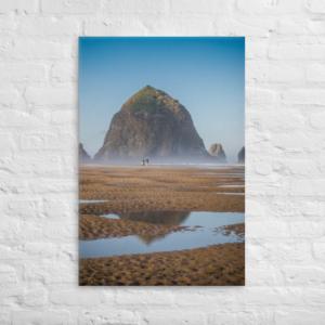CANNON BEACH - 24X36 Canvas Wrap Print