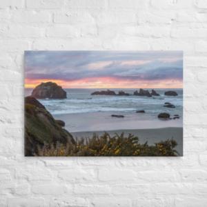 FACE ROCK - 24X36 Canvas Wrap Print