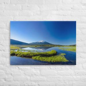 MOUNT BACHELOR - 24X36 Canvas Wrap Print