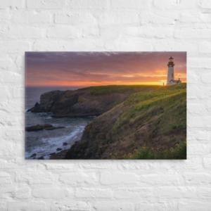 OREGON COAST LOGHTHOUSE - 24X36 Canvas Wrap Print